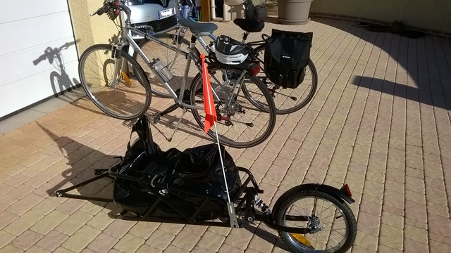 Toulouse Moissac en vélo