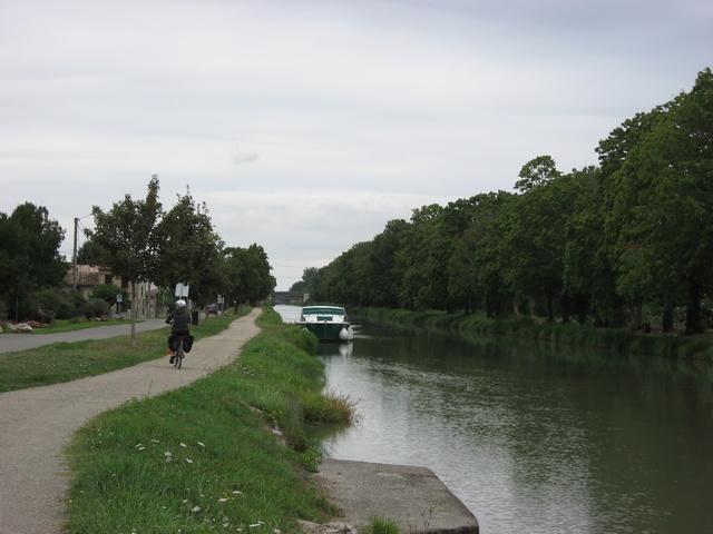 Toulouse Bordeaux par le canal latéral