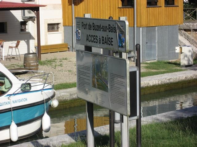 port de la Baïse