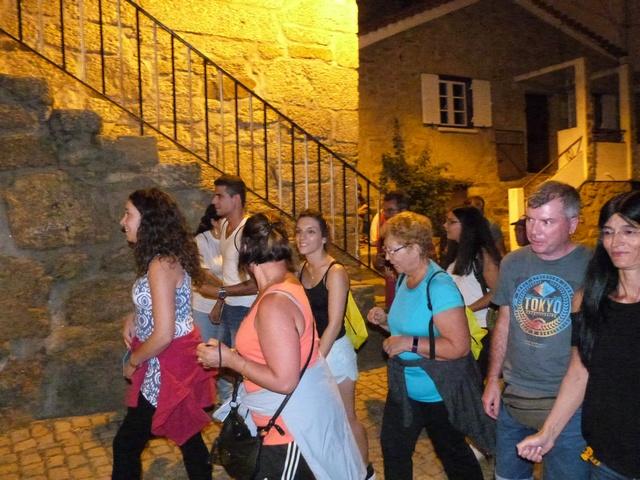 Sarzedo Portugal randonnée pédestre de nuit