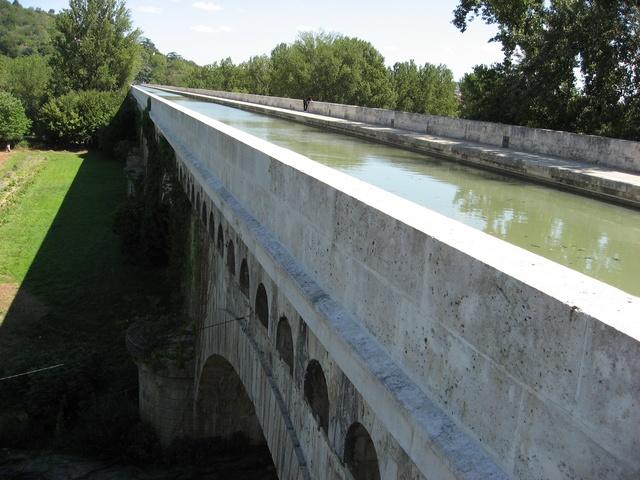 Pont canal d'Agen