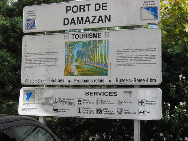 Port de Damazan