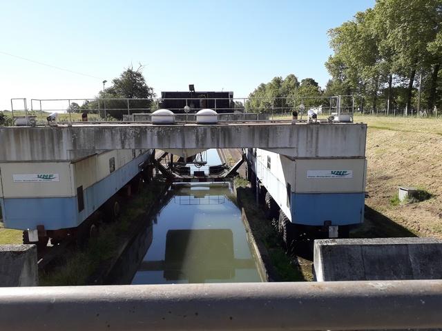 La pente d'eau de Montech