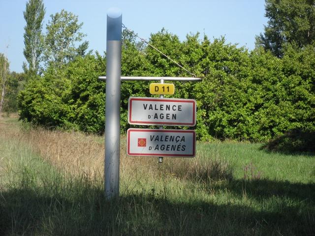 Valence d'Agen; la centrale Golfech