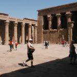 Le temple d'Edfou