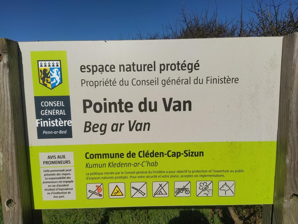 Pointe du VAN