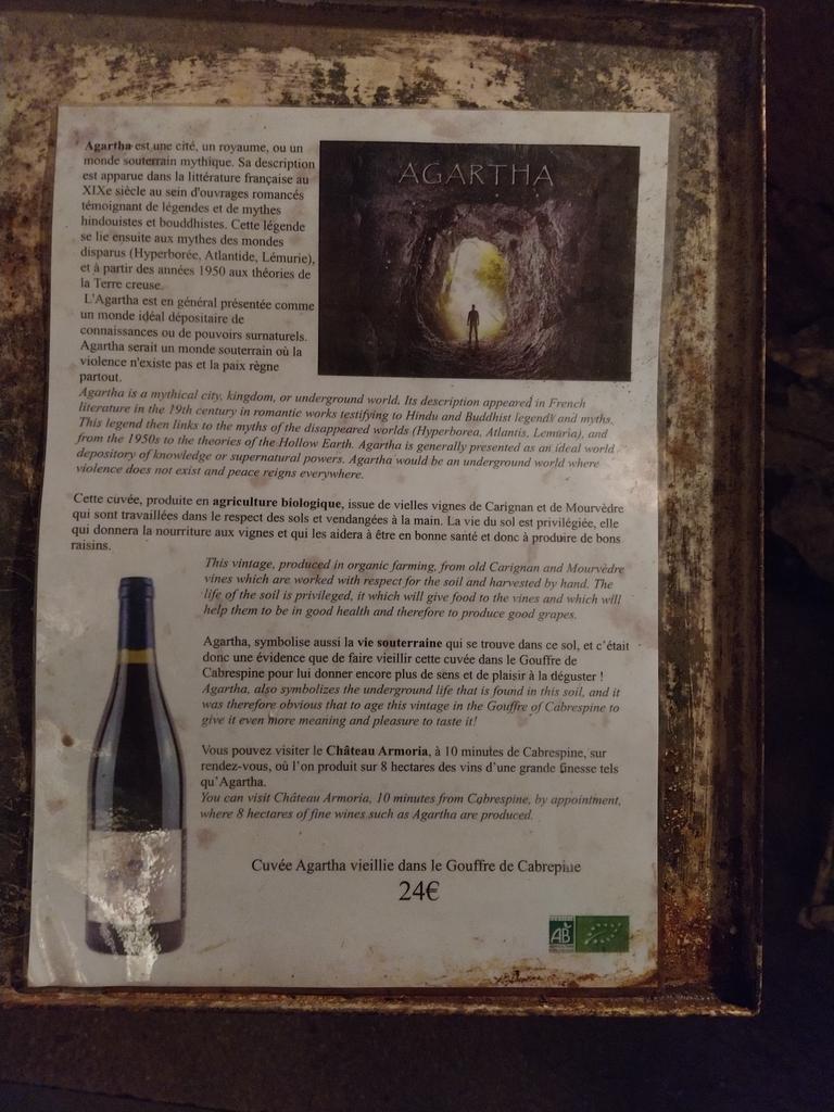 Vin Gouffre de Cabrespine